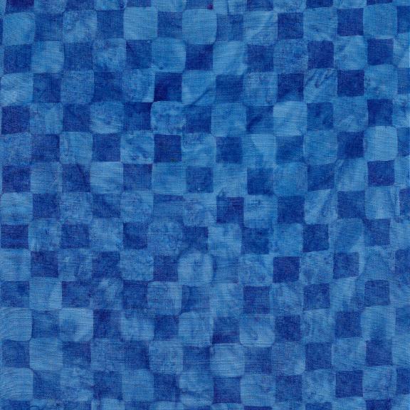 Island Batik - Check Blueberry 121929565