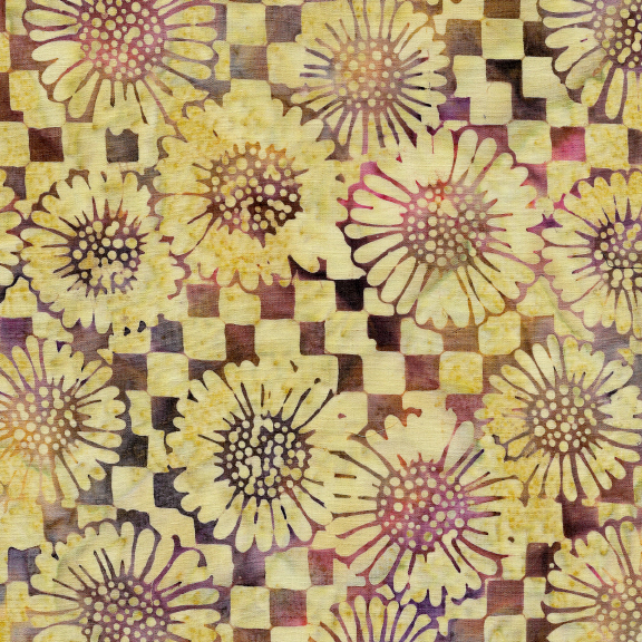 Check/Sunflower-Dusk Batik