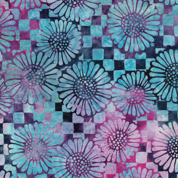 121930886 / Check/Sunflower-Mystic Berry