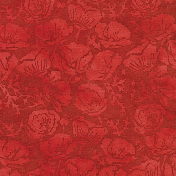 Vincent's Garden - Poppies - Cherry 122004370