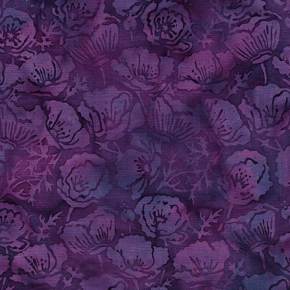 Lavender Fields Poppies Dark Iris 122004486
