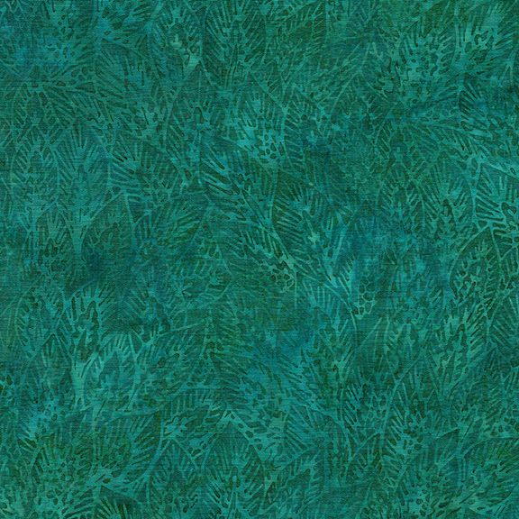 Vincent's Garden - Lg Wheat Leaves - Dark Lagoon 122005560
