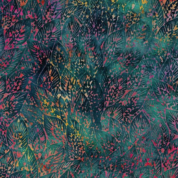 122005875 / Lg Wheat Leaves-Rainbow
