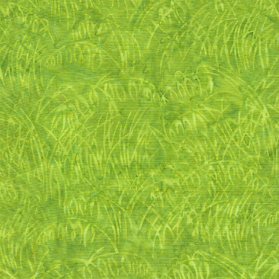 IB- Wheat Field Green Apple Batik