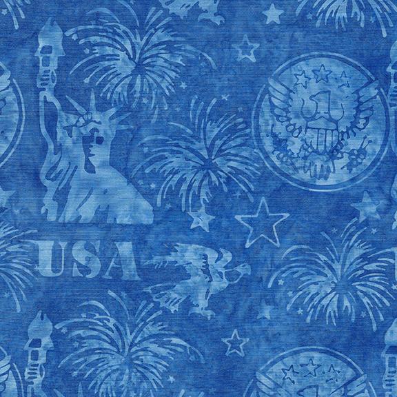 Freedom 2 Statue of Liberty/Eagle Lake Blue 122049536