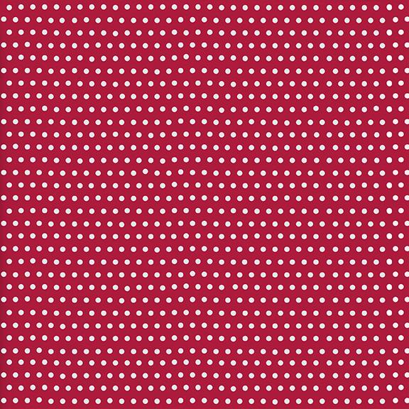 122050370 Ditsy Dots-Cherry