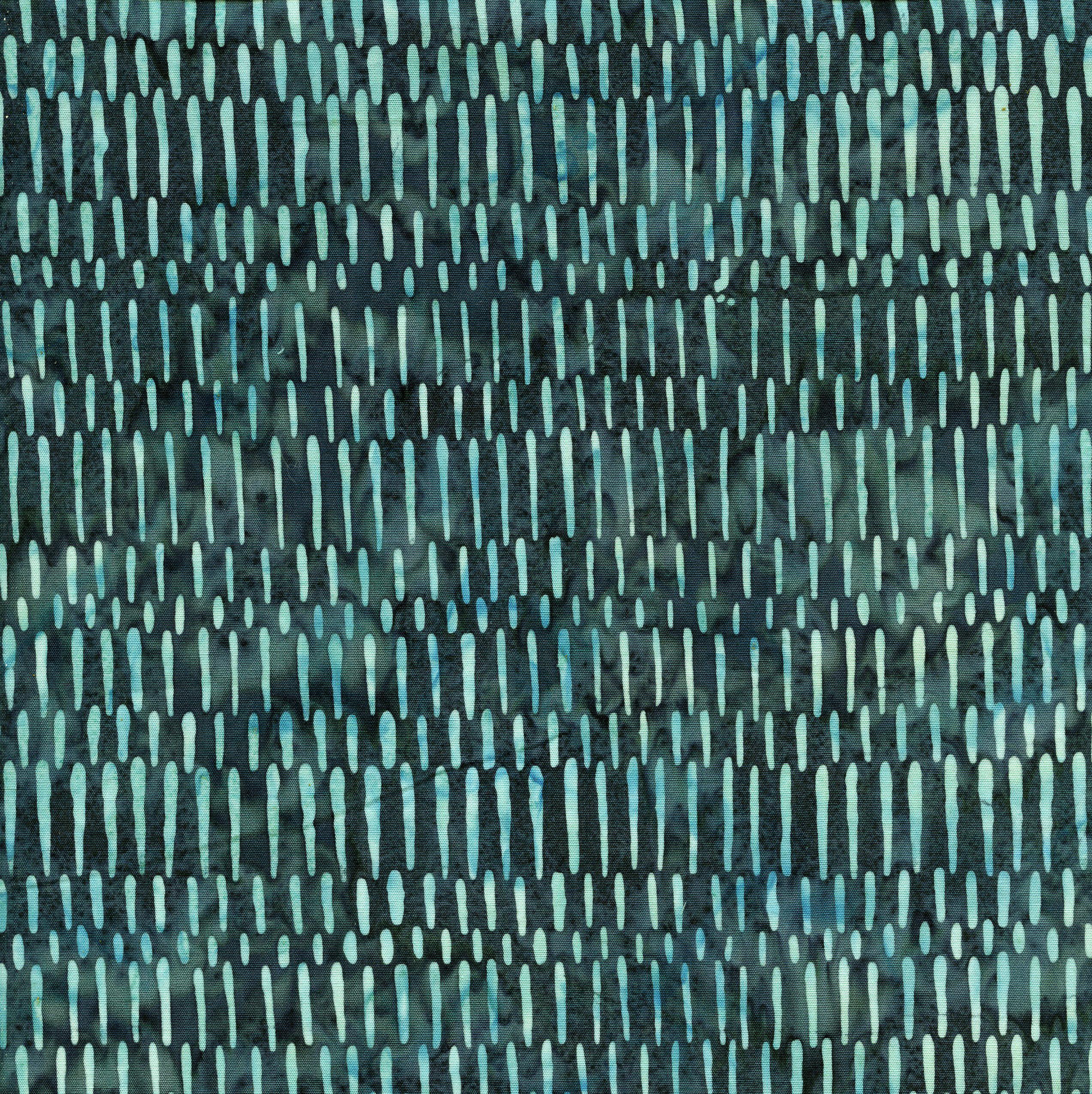 Island Batik Teal Short Lines