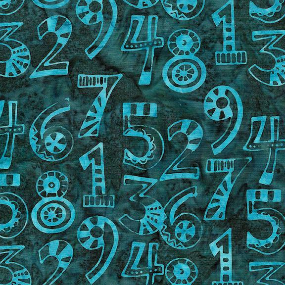 Batik - Numbers Dark