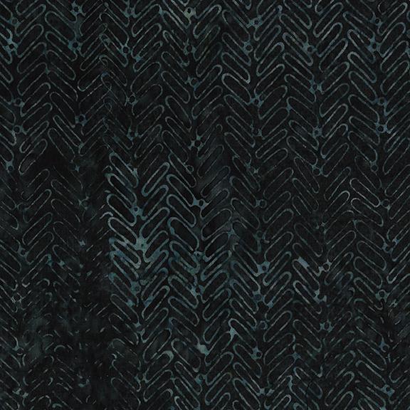 Batik Herringbone - Ravine
