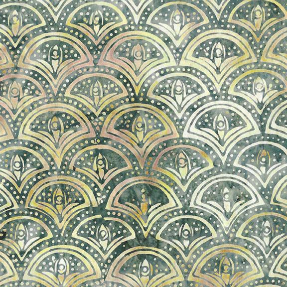 Venetian Marble - Clamshell Batik - Surf & Sand