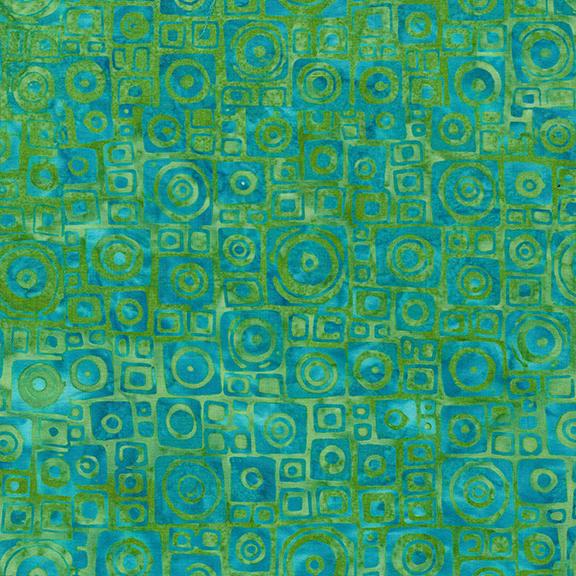 522002610 / Square Circle-Bermuda Batik