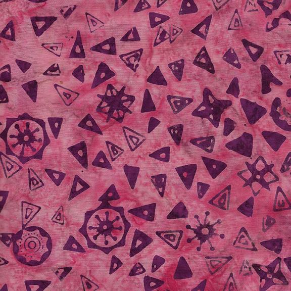 Island Batik Triangles Muave 612005416