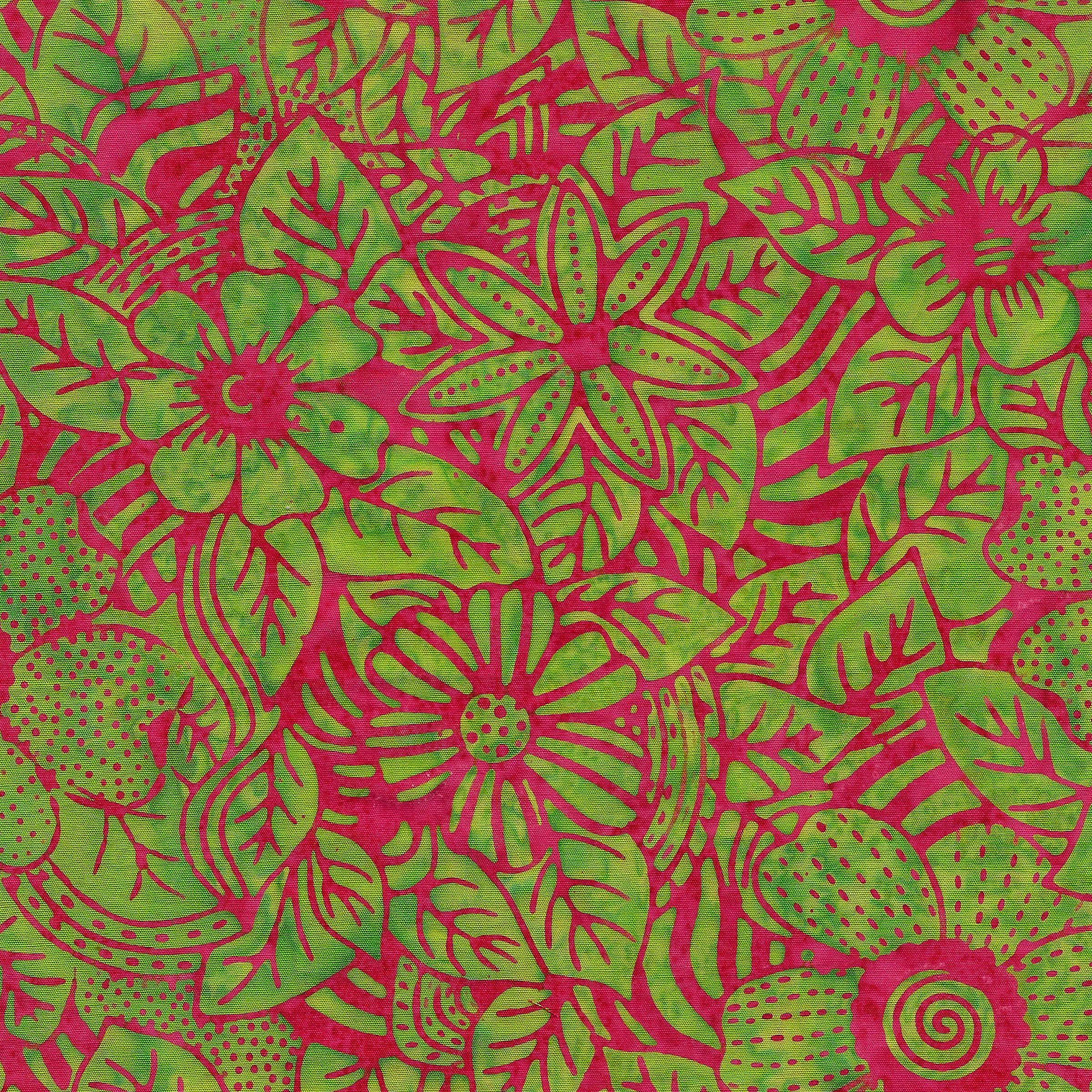 711901615 / Flower Zebra-Lime