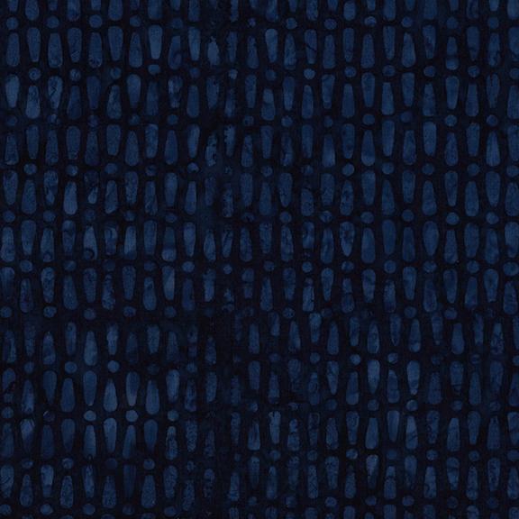 Just My Type - Blueberry  Island Batik