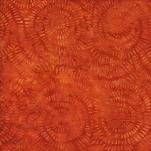 Island Batik - BE22-C2 / Dandelion-Pumpkin