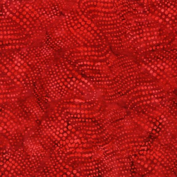 108-BE23-C1 / Dots-Red-Batik