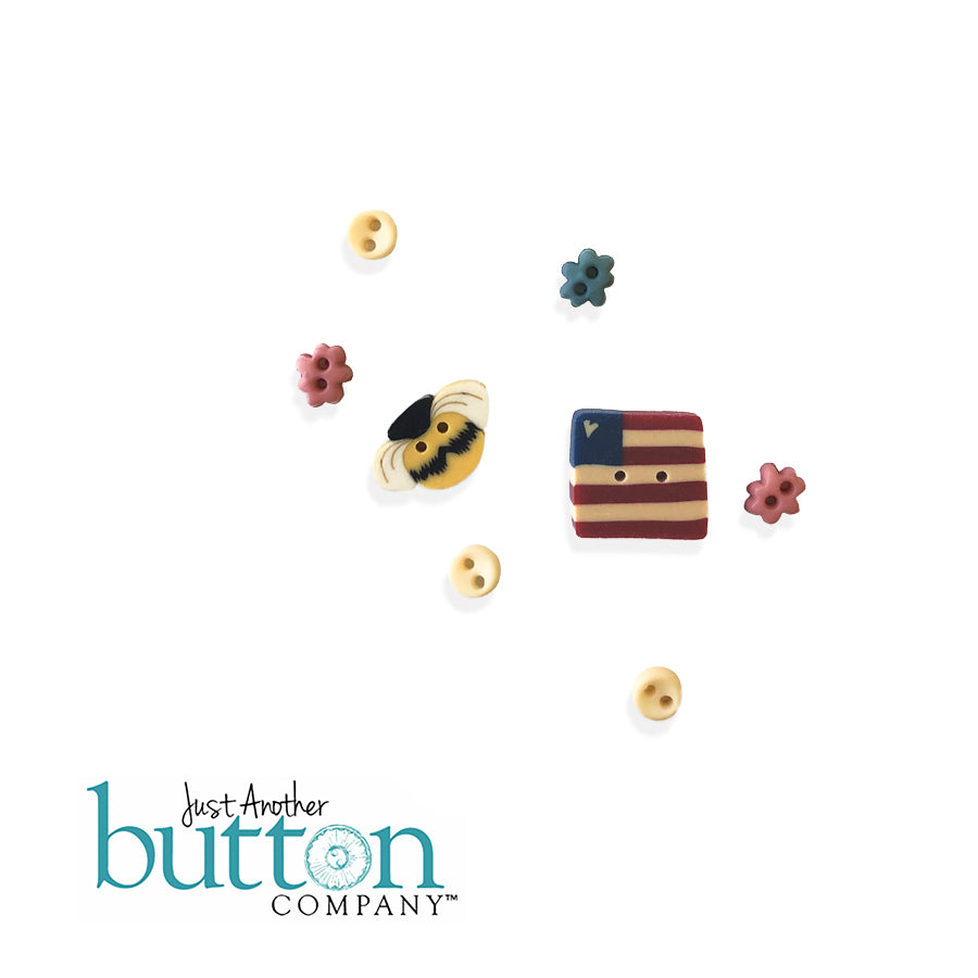 Button JAB Summer Notes Button Pack