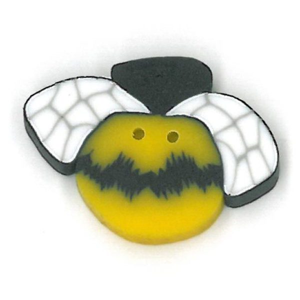 Button JAB Bee Small