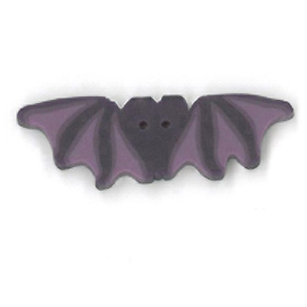 Button JAB Bat Purple Large
