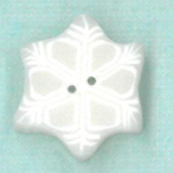 Button - JAB Snowflake Tiny