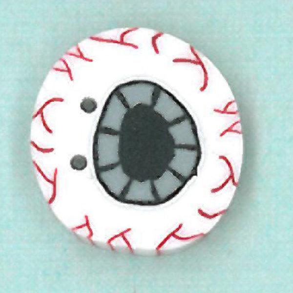 Button JAB Eye Spooky Medium