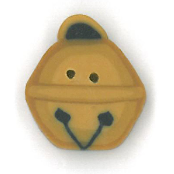 Button JAB Bell Sleigh Small