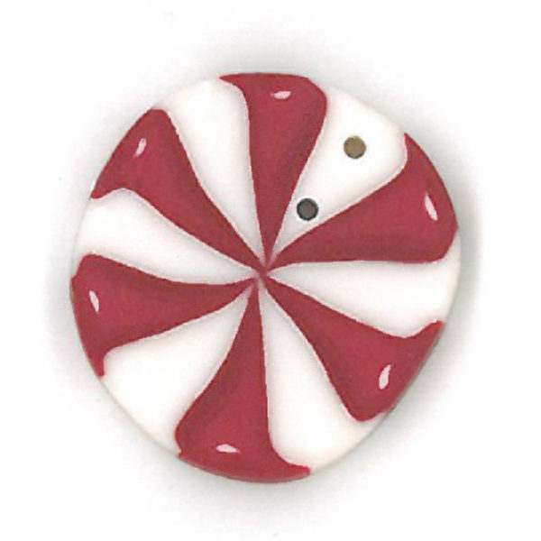 Button - JAB Peppermint Swirl Large