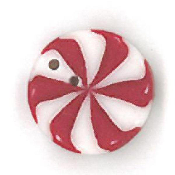 Button - JAB Peppermint Swirl Small