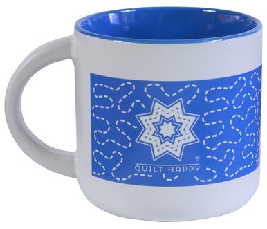 Quilt Around Mug - Sky Blue