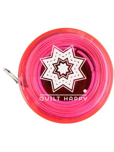 Tape Measure Quilt happy tape measure pink 5 ft. retractable