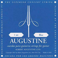 Augustine Guitar String Set Blue High Tension