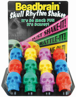 Skull Shkr Asst Color SINGLE SHAKER