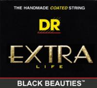 DR 3-BKA-11 Black Acoustic Stringset .011-.050