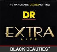 DR 2-BKE-11 Black Beauties Electric Stringset 11-50