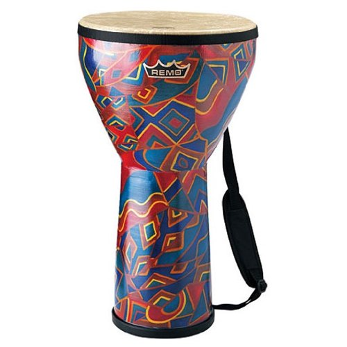 Remo Small Djembe Rainbow Finish