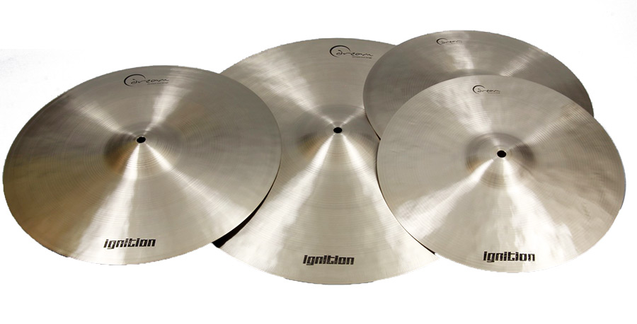 Ignition Series 3 Pc Cymbal Pk