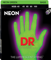 DR 1-NGB-45 Neon Green Bass Stringset