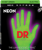 DR 2-NGE-10 HiDef Green Electric Stringset 10-46