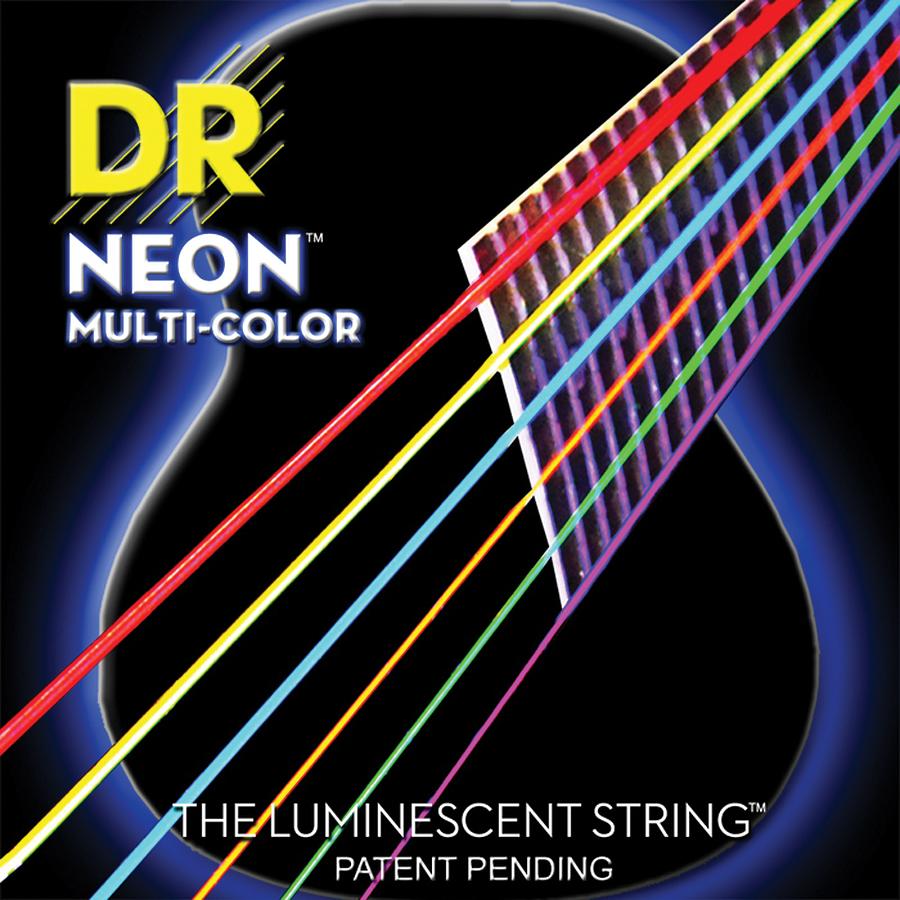 DR 3-NMCA-12 Multi-Colour Acoustic Stringset