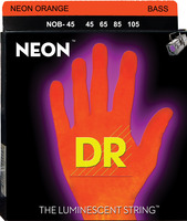 DR 1-NOB-45 Neon Orange Bass Stringset