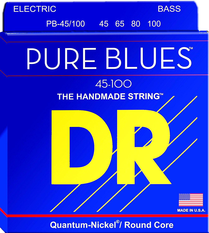 DR 1-PB-45 Pure Blues Electric Bass Stringset