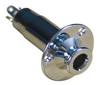 Retro Parts Chrome Acoustic Electric End Pin Jack RP390C