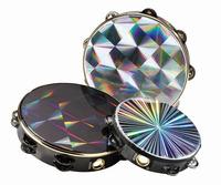Remo Double Tambourine Blk Prism 10