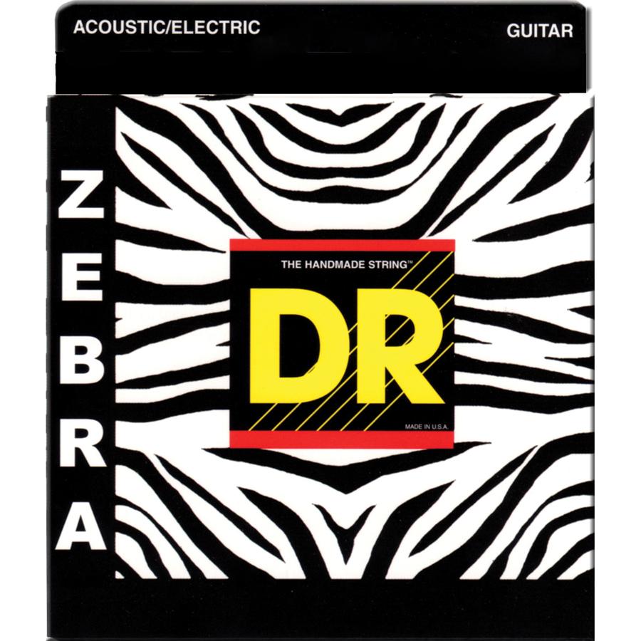 DR 4-ZAE-11 Zebra Acoustic / Electric Stringset