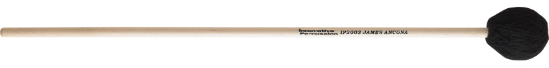 Medium Marimba Mallets - Black Yarn - Birch