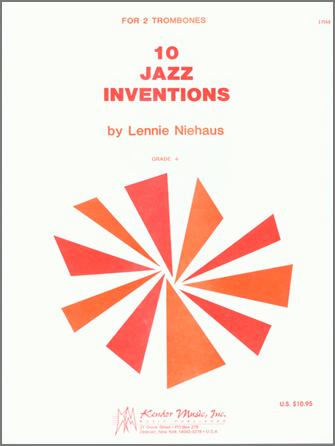 10 JAZZ INVENTIONS FOR 2 TENOR TROMBONES NIEHAUS