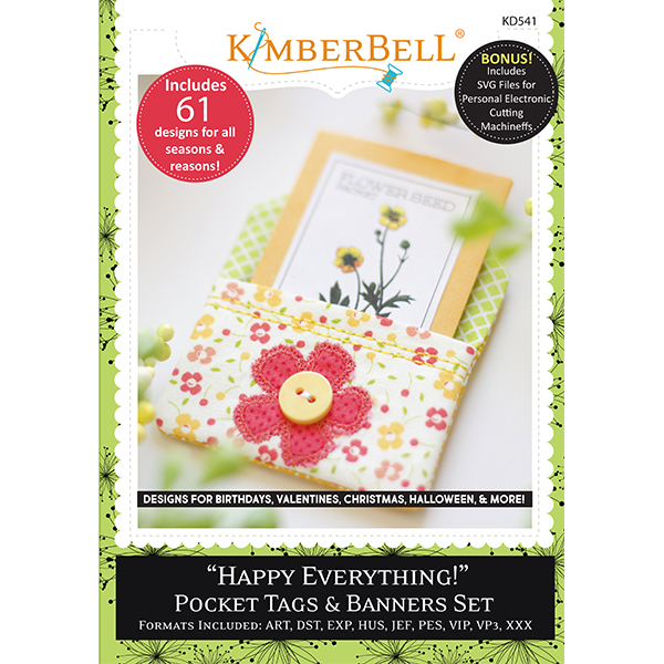 Happy Everything Pocket Tags and Banners