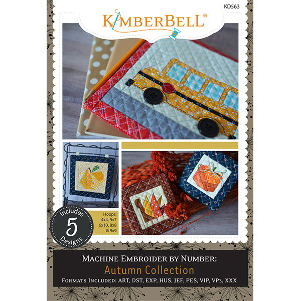 Machine Embroider by Number: Autumn Collection - Kimberbell Designs