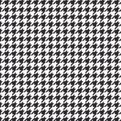 Kimberbell Black Houndstooth