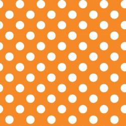 Maywood Studio Kimberbell Basics Dots Orange MAS8216-O